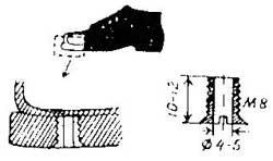 Как сделать пустотелые винты для лыжных ботинок