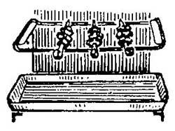 Как сделать шашлык в газовой плите