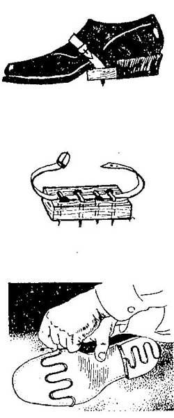 Как сделать съемные подметки от скольжения для обувь