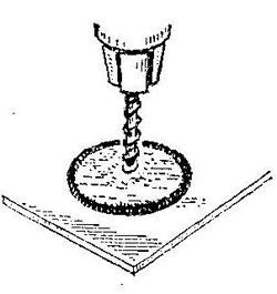 Как сделать отверстие в стекле