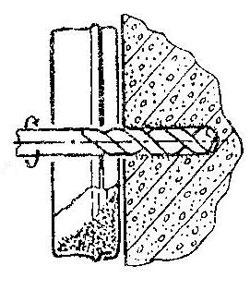 Как удалить пыль при сверлении бетонна