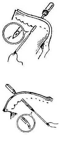 Как использовать иглу взаме шила