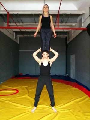Парная акробатика, Акройога - йога в Иркутске